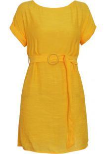Vestido Florença - Amarelo