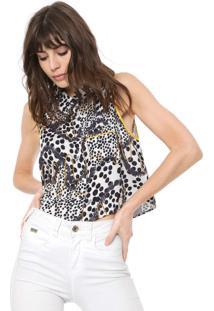 Camisa Triton Tigre Bege