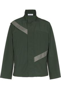 Kiko Kostadinov Gaetan Cut Through Jacket - Green