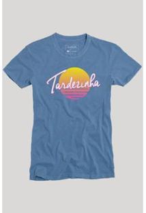 Camiseta Reserva Pôr Do Sol - Masculino-Azul
