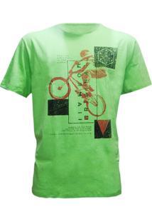 Camiseta Mormaii Feel The Ride Masculino - Masculino-Verde