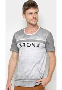 Camiseta Kohmar Estampa Degradê Masculina - Masculino