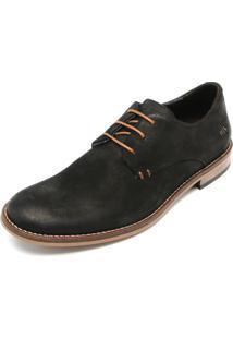 Sapato Couro Reserva Deco Preto