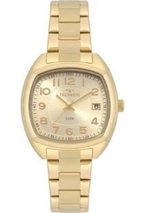 Relógio Technos Dress Feminino - Feminino-Dourado