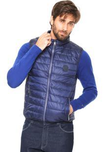 Colete Puffer Polo Wear Matelassê Azul