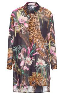 Camisa Feminina Yeva - Preto