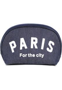 Necessaire Bolsine Paris Azul