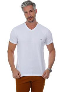 Camiseta Javali Slim Branca