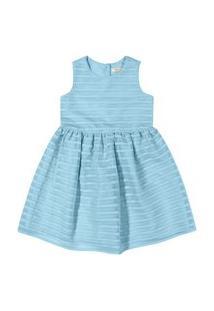 Vestido Clássico Tricknick Azul