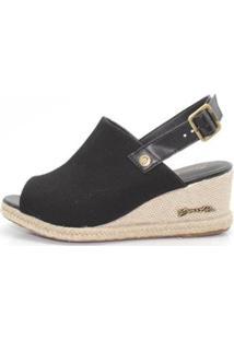 Sandália Barth Shoes Perola Feminina - Feminino-Preto