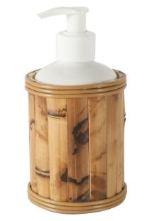 Porta Sabonete Líquido Bambu
