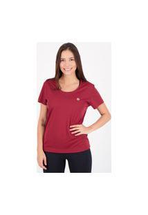 Camiseta Olympikus Essential Feminina Vinho