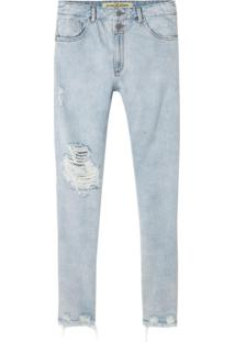 Calça John John Slim Dawson Jeans Azul Masculina (Jeans Claro, 36)