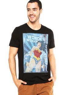Camiseta Fashion Comics Justice League Preta