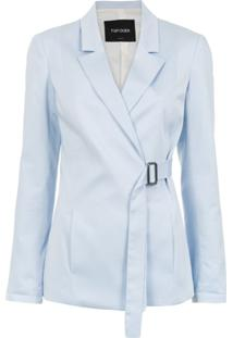 Tufi Duek Blazer Com Cinto - Azul