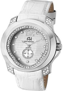 af7aafce641 Relógio Digital Ana Hickmann Branco feminino