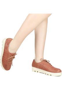 Sapato Casual Zariff Mocassim Em Couro