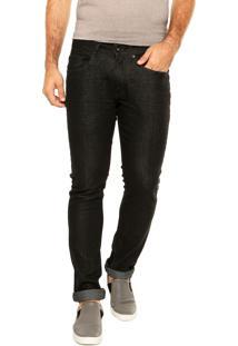 Calça Jeans Calvin Klein Jeans Slim Preta