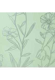 Kit 3 Rolos De Papel De Parede Fwb Lavável Floral Prateado Perolado - Tricae