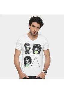 Camiseta Sergio K. Skull Masculina - Masculino