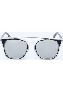 Óculos Feminino De Sol Vintage Espelhado Marisa