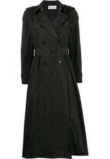 Redvalentino Trench Coat - Preto
