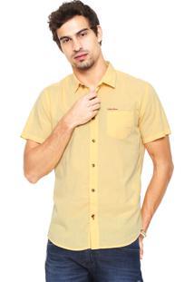 Camisa Coca-Cola Jeans Shape Amarela