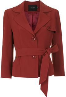 Fillity Blazer Com Amarração - Vermelho