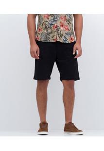 Bermuda Básica Masculina Em Sarja