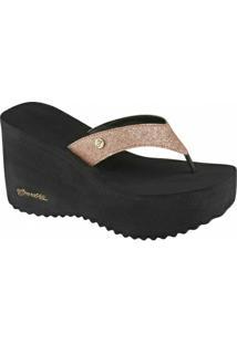 0bb9086aea ... Tamanco Barth Shoes Sorvete Glitter Tratorado - Feminino-Bronze