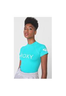 Camiseta Roxy Surf Summer Verde