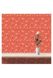 Papel De Parede Autocolante Rolo 0,58 X 3M - Borboleta Coração 105286676