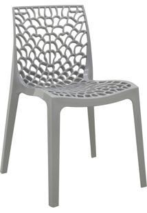 Cadeira Gruv Cinza Rivatti Móveis
