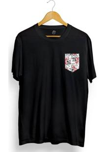 Camiseta Bsc Sure Flower Pocket - Masculino