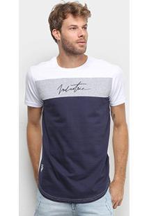 Camiseta Industrie Tricolor Masculina - Masculino