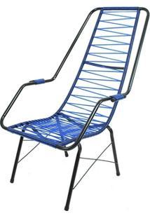 Cadeira De Área Parreira - Pr1/Adulto - Azul
