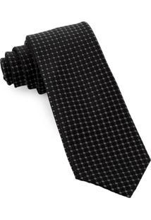 Gravata De Seda Lux Black