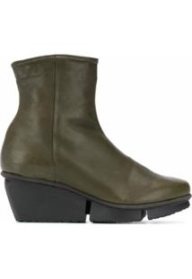 Trippen Ankle Boot Force Sat - Verde