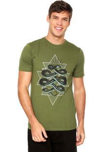 Camiseta Fiveblu Let It Verde