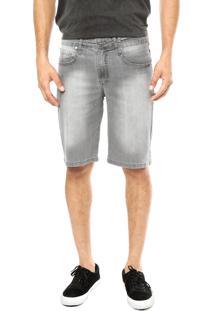 Bermuda Jeans Volcom Solver Cinza
