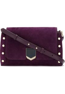 Jimmy Choo Bolsa Tiracolo Lockett - Roxo