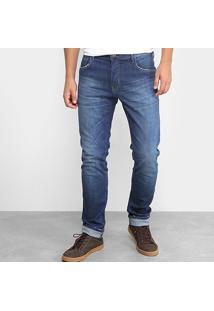 Calça Jeans Skinny Coca-Cola Estonada Masculino - Masculino