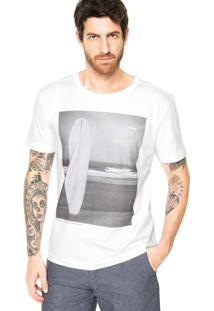 Camiseta Redley Beach Branca