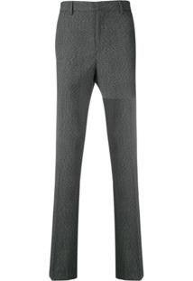 Calvin Klein 205W39Nyc Calça De Alfaiataria Xadrez - Preto