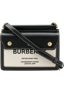 Burberry Baby Title Pocket Crossbody Bag - Neutro