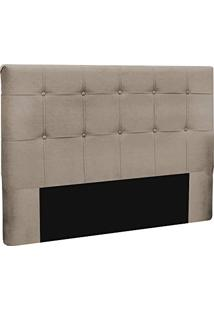 Cabeceira Slim Queen 160Cm Decor Magazine Suede Nude