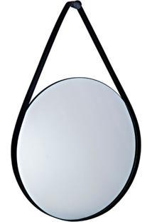 Espelho Decorativo Bart 40 X 58 Cm Preto