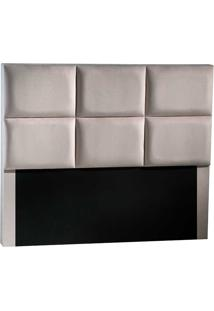 Cabeceira Casal Fit Vernon-Sono Design - Bege