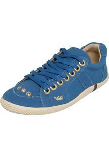 Tênis Osklen Recortes Azul