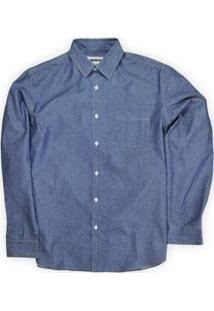 Camisa Jeans Masculina Classic Linoleum - Masculino